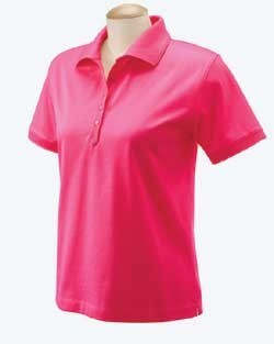 Devon & Jones Ladies Executive Club Polo Shirts D440W. Embroidery available. Quantity Discounts. Same Day Shipping available on Blanks. No Minimum Purchase Required.