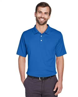 Devon & Jones DG200 Men's Pima Tech Jet Pique Short Sleeve Polo Shirts