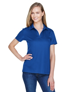 Devon & Jones DG20W CrownLux Performance™ Ladies' Plaited Polo. Embroidery available. Quantity Discounts. Same Day Shipping available on Blanks. No Minimum Purchase Required.