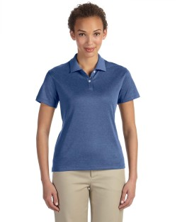 Devon & Jones DG210W Pima-Tech™ Ladies' Jet Pique Heather Polo Shirt