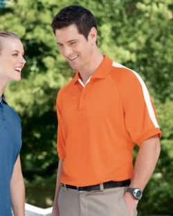 Devon & Jones DG375 Mens Colorblock Mesh Polo Shirts. Up to 25% off. Free shipping available. 30 Day Return Policy.