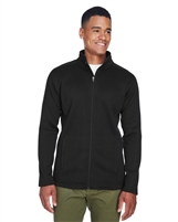 Devon & Jones Men's Bristol Full-Zip Sweater Fleece Jacket DG793. Embroidery available. Quantity Discounts. Same Day Shipping available on Blanks. No Minimum Purchase Required.