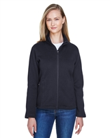 Devon & Jones Ladies' Bristol Full-Zip Sweater Fleece Jacket DG793W. Embroidery available. Quantity Discounts. Same Day Shipping available on Blanks. No Minimum Purchase Required.