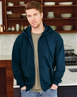 Hanes Ultimate Cotton Full Zip Hooded Sweatshirt F280.