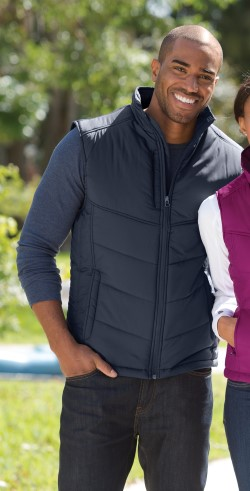 Port Authority J709 Puffy Vest. Quantity Discounts. Free Shipping available.