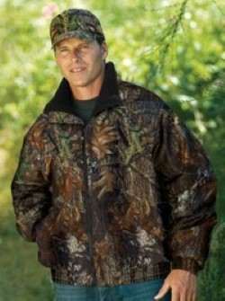 Port Authority Mossy Oak Camouflage Challenger Jackets J754MO. Embroidery available. Fast shipping on blanks. Volume Discounts. No minimum purchase.