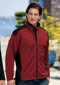 Port Authority Soft Shell Two-Tone Jackets J794. Embroidery available. Fast shipping on blanks. Volume Discounts. No minimum purchase.