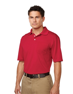 Tri-Mountain K158P Vigor Short Sleeve Pocket Polo Shirts. Up to 25% Off. Free Shipping available.