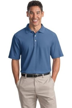 Port Authority K800 Mens EZCotton Pique Sport Shirts. Up to 25% Off. Free Shipping available.
