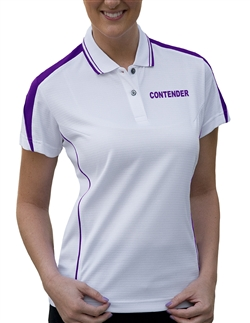 Pro Celebrity KLM127  Contender Ladies' Ottoman Polo Shirts