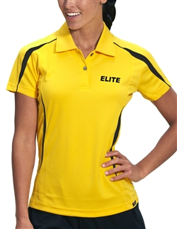 Pro Celebrity Elite KLM231 Womens Ottoman Polo Shirts