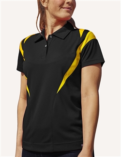 Pro Celebrity KLM236 Flame Thrower Womens Polo Shirts