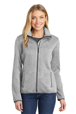 Port Authority L232 Ladies Sweater Fleece Jackets