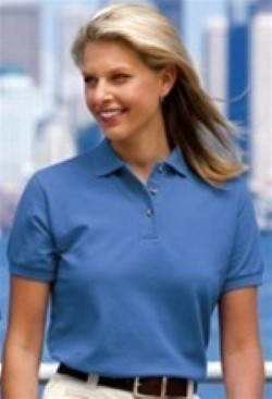 Port Authority Ladies Pique Knit Sport Shirts L420. Embroidery available. Same Day Shipping available. Quantity Discounts. No Minimum Purchase Required.