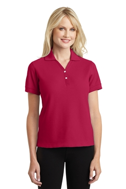 Port Authority L448 Ladies 100% Pima Cotton Polo Shirts