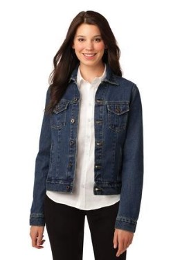 Port Authority® Ladies Denim Jacket L7620