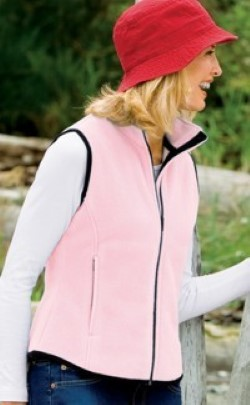 Port & Company Ladies R-Tek Fleece Vests LP79. Embroidery available. Same Day Shipping available on blanks. Quantity Discounts. No Minimum Purchase Required.