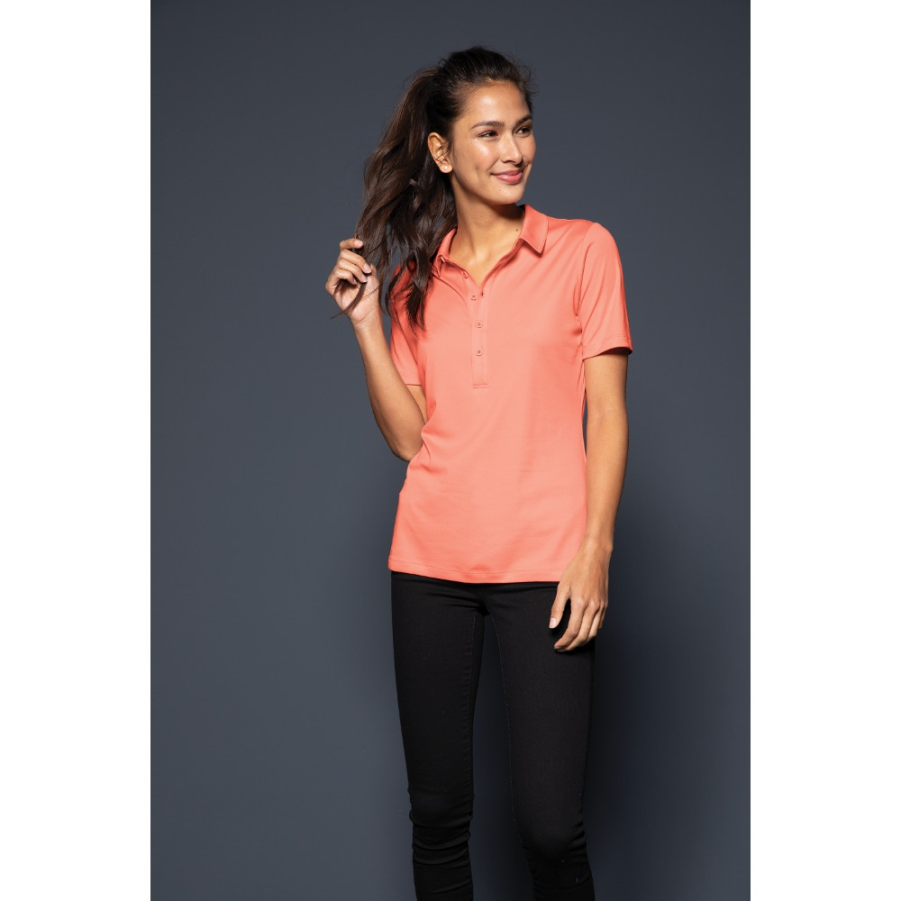 Sport Tek Lst520 Ladies Sport Tek Posi Uv Pro Polo Shirts Up To 25 3.8 oz, 100% polyester tricot. sport tek lst520 ladiessport tek posi uv pro polo shirts