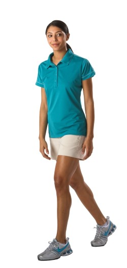 Sport-Tek LST659 Womens Contrast Stitch Micropique Sport-Wick Polo Shirts. Up to 25% Off. Free Shipping available.