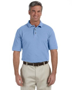 Harriton Tall 6 oz. Ringspun Cotton Piqué Short-Sleeve Polo M200T