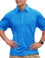 Pro Celebrity 102 Members Only Men's 100% Polyester Moisture Management Polo Shirts