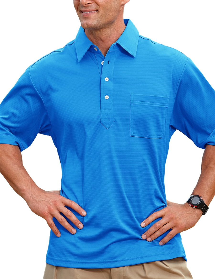 Pro celebrity 102 members only men 39 s 100 polyester for Men s polyester polo shirts