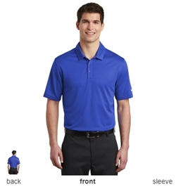 Nike Golf NKAH6266 Dri-FIT Hex Textured Polo Shirts