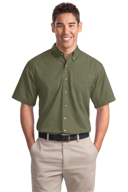Port Authority S500T Short Sleeve Twill Shirts