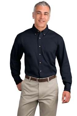 Port Authority S600T Long Sleeve Twill Shirts
