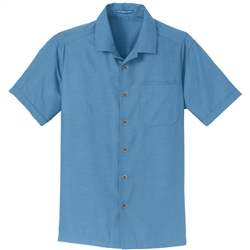Port Authority Textured Camp Shirts S622.