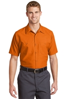 Red Kap SP24 Short Sleeve Industrial Work Shirts