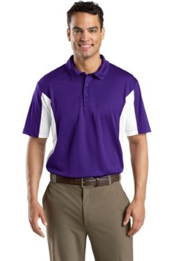 Sport-Tek ST655 Side Blocked Micropique Sport-Wick Polo Shirts. Up to 25% Off. Free Shipping available.
