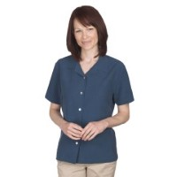 Eagle Dry Goods WOJ Women's Sanibel Silk Camp Shirts