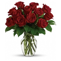 A dozen red roses is a timeless gift of love, and the time is always right to give and receive this enchanting gift. Birthday, anniversary or just because, the magic of roses will always cast its spell. You'll see.