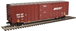 Burlington Northern Santa Fe_BNSF_Atlas Trainman 50' 6 Boxcar_2001041_3Rail