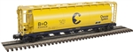 Baltimore & Ohio-Chessie_B&O_Atlas 6 Bay Cylindrical Hopper_3002222_2Rail