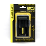 18500/18650 Advanced NiteCore® UM20 Battery Cell Charger