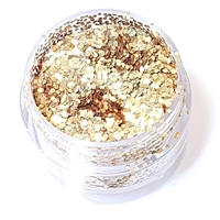 Super Chunky Gold BioGlitter-- 10 grams