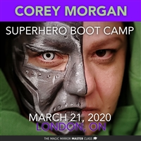 Master Class with Corey Morgan--Super Hero Boot Camp