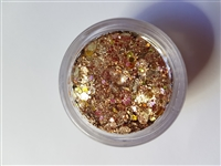 Essential Glitter Balm- Golden Copper Rose