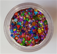 Essential Glitter Balm- Over The Rainbow