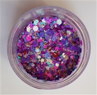 Essential Glitter Balm- Purple Petals