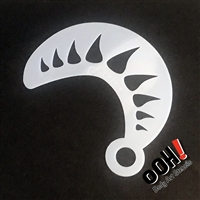 OOH! Monster Horn Wrap Stencil