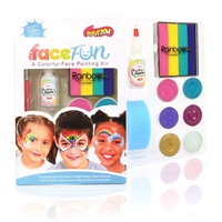 Carnival Silly Face Fun Rainbow Kit