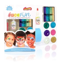 Mermaid Silly Face Fun Rainbow Kit