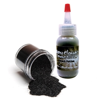 Mama Clown Black Potion Glitter-- 1 oz poofer