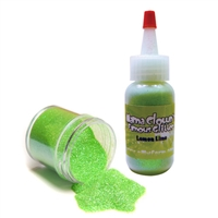 Mama Clown Glitter Lemon Lime-- 1 oz poofer