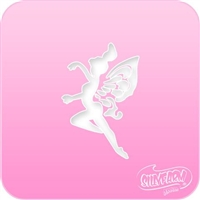 Dancing Fairy Pink Power Stencil