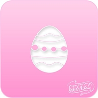 Easter Egg Pink Power Stencil