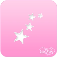Star Cluster Pink Power Stencil